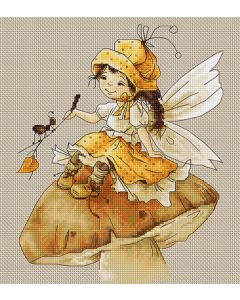 Luca-s borduurpakket The Fairy  om te borduren b1109