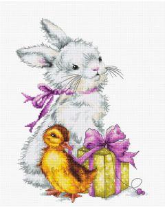 Luca-s borduurpakket Vogel huis om te borduren BU4021