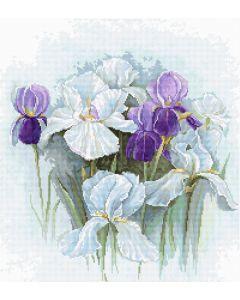 Luca-s borduurpakket irissen om te borduren b2367