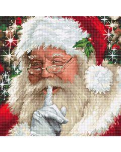 Luca-s borduurpakket kerstman om te borduren B2398