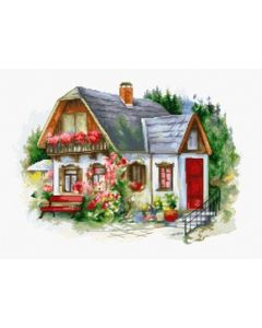 Luca-s borduurpakket Beautiful Country House  om te borduren bu4005