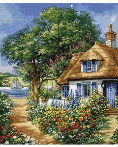 Luca-s borduurpakket zomer landschap om te borduren BU5000