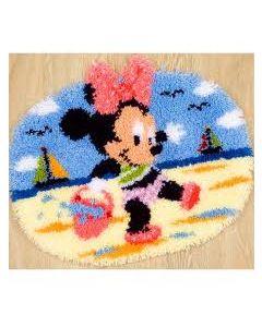 Knooppakket   vervaco Knoopkleed  Minnie op het strand van disney
