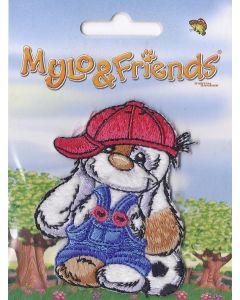 Mylo & Friends met rode pet applicatie