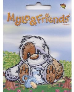 Mylo & Friends met speen applicatie.