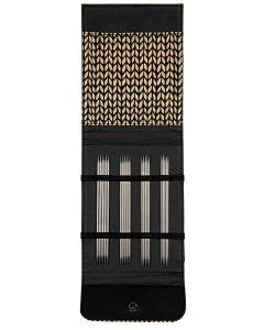 Lana Grossa roestvrij staal sokkennaalden set 2.25mm t/m 3.5mm