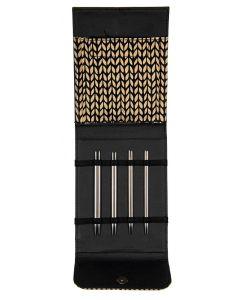 Lana Grossa roestvrij staal (edelstaal) rondbreinaaldenset 3.0 t/m 5.0mm