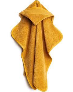 Baby cape met aida rand op capuchon om te borduren oker van Rico 740275.65