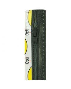 Opti broek/rok rits S40 kl.001 zwart 10cm
