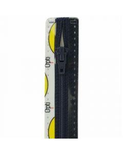 Opti broek/rok rits S40 kl.210 donker blauw 10cm
