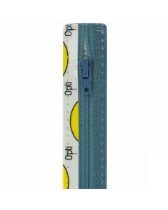Opti broek/rok rits S40 kl.235 licht blauw 10cm