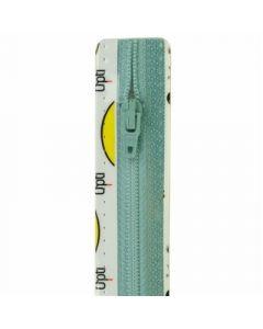 Opti broek/rok rits S40 kl.259 licht blauw 10cm