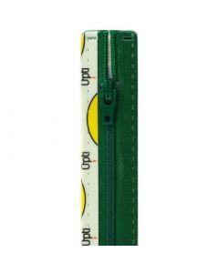 Opti broek/rok rits S40 kl.433 groen 10cm