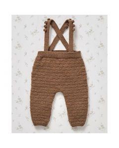 Phildar baby broekje met bretels breien van Partner baby (703,7A)