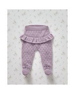 Phildar baby broekje met ribbelrandbreien van Partner Baby (703,m7c)