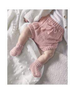 Phildar baby broekje met strik breien van Phil Caresse (200, m28)