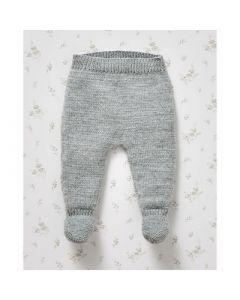 Phildar baby broekje met voetstukje breien van Partner Baby (703,m7b)