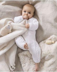 Phildar baby pakje met kabels breien van Phil Caresse (189,m33)