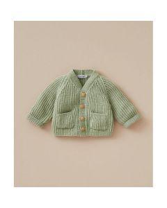 Phildar baby vestje met knoopjes breien van Super Baby (200, m33)