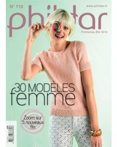 Breiboek nr.118 dames lente/zomer 2015 van Phildar