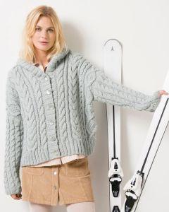 Phildar dames kavel vest breien van Phil Looping