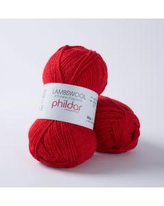 Phildar Lambswool 51 kl.Rouge