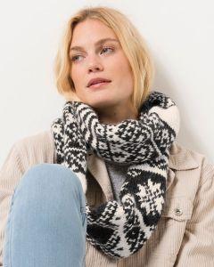 Phildar Noorse sjaal breien van Phil Looping