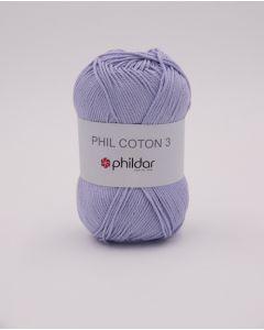 Phildar Phil Coton 3 katoen kl.parme