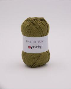 Phildar Phil Coton 3 katoen kl.vegetal