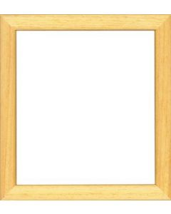 Hout lijstje voor een borduurpakket afm ca 21x23 cm