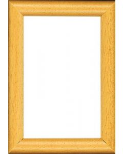 Hout lijstje voor een borduurpakket afm ca 8x12 cm