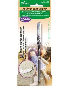 Clover  adapter opzetstuk mini strijkijzer lang en smal no.9105