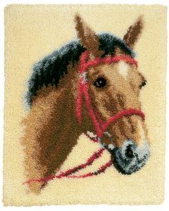 Knoopkleed Bruin paard van Vervaco PN-0014299