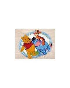 Vervaco Disney knoopkleed beste vrienden van Winnie the Pooh pn-0146210