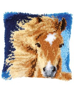 Knooppakket Knoopkussen bruin paard Vervaco pn-0149848