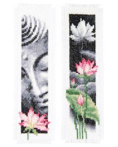 Lotus en Boeddha Vervaco pn-0155652