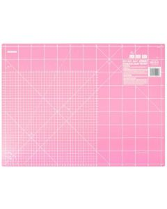 Quiltmat Olfa inches en centimeter roze limited edition