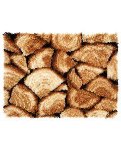 Vervaco knooppakket houtblokken knoopkleed pn-0157818
