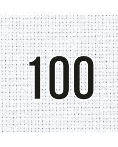 Zweigart borduurstof stern-aida 14ct  100 blanc 110 breed