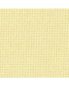 Borduurstof Lugana 25ct / 10 draadjes per cm van Zweigart  zacht geel 274 afm 48x68 cm