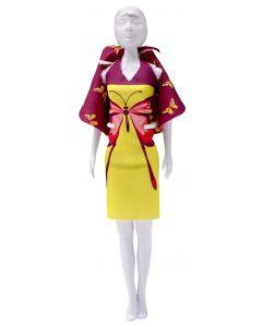 Dress Your Doll Zelf Barbiekleren naaien Dolly butterfly  pn-0164622