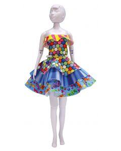 Dress Your Doll Zelf Barbiekleren naaien Maggy candy  pn-0164624