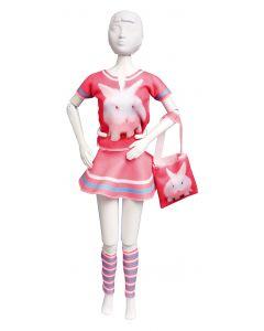 Dress Your Doll Zelf Barbiekleren naaien Tiny konijn