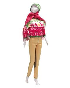 Dress Your Doll Zelf Barbiekleren Kathy Pink pn-0164652
