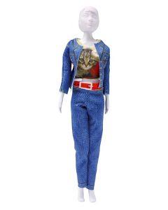 Dress Your Doll Zelf Barbiekleren Kitty cat pn-0164654