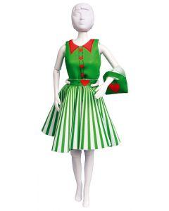 Dress Your Doll Zelf Barbiekleren naaien Peggy heart pn-0164662