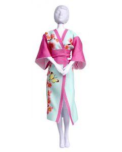 Dress Your Doll Zelf Barbiekleren naaien Yumi pn-0164664