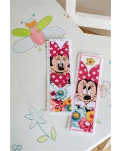 2 boekenleggers Minnie dagdroomt  Disney Vervaco pn-0168651
