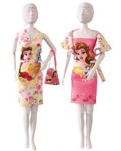 Zelf Barbiekleren naaien wordt kinderspel met de Dress Your Doll collectie DisneyDolly Beauty Roses