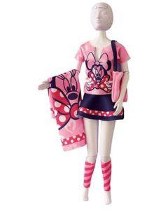 Dress Your Doll Zelf Barbiekleren naaien Disney Tiny Minnie